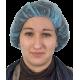 Charlotte clip bleue par 100