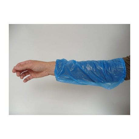 Manchettes polyethylene par 100