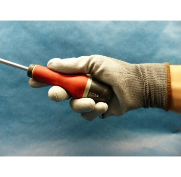 Gants de protection polyester enduits polyuréthane par 10 paires