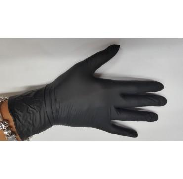 Gants nitrile noir medi-tril black