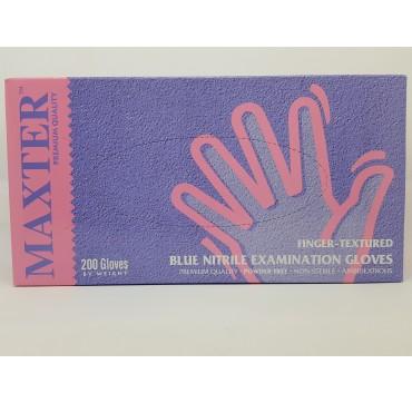 Gants Nitrile Bleu NP Maxter par 200