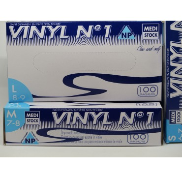 Gants Vinyle NP Medistock