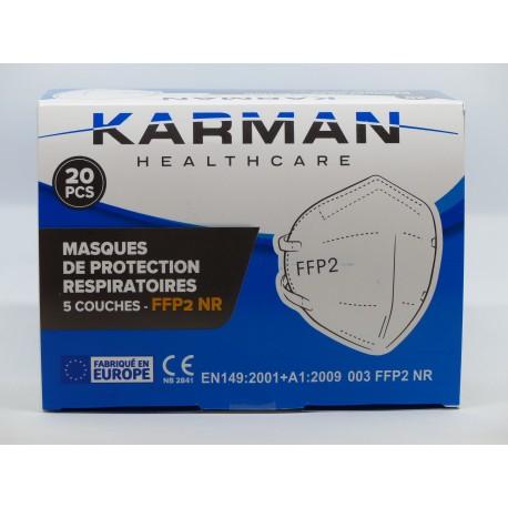 Masques de protection ffp2 nr par 20 karman