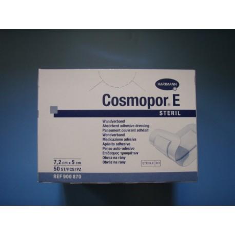 Cosmopore 7,2cmx5cm sterile/50