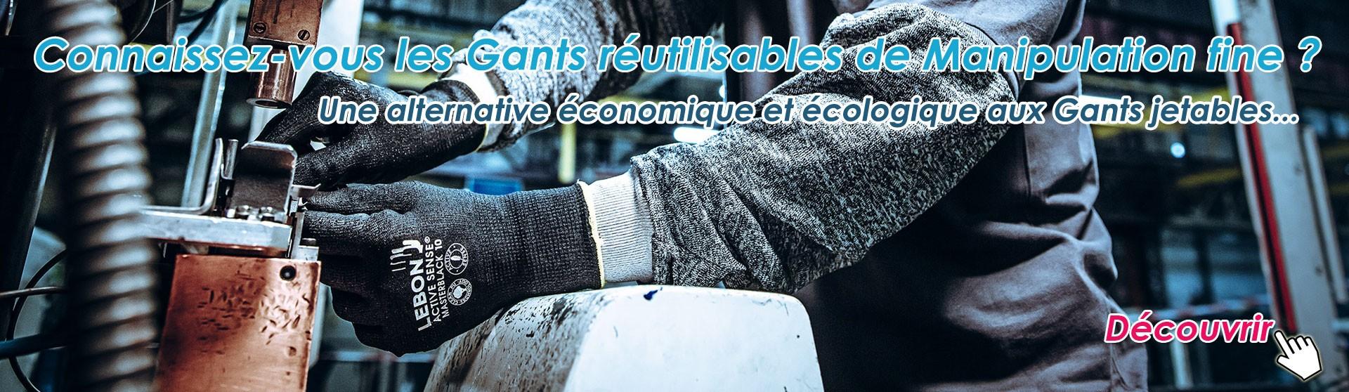 Une alternative économique et écologique aux Gants jetables...