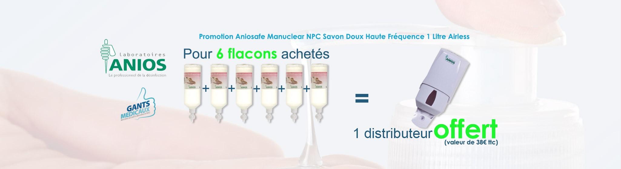 Promotion Anios Savon Doux Haute Fréquence